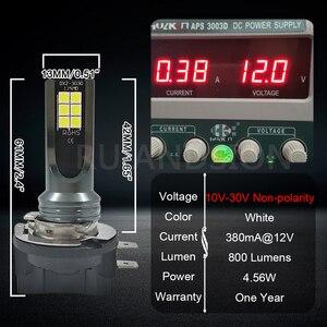 Image 5 - RUIANDSION 2Pcs 12 3030SMD 800Lm H11B H8B Energy Efficient LED Fog Bulb Car Head Light 10V 30V 12V 24V White 6000K  For KIA Ford