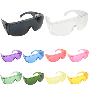 Image 2 - Protective Safety Goggles Glasses Work Dental Eye Protection Spectacles Eyewear Anti shock Goggles Color Goggles