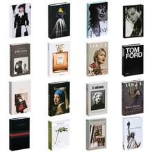 Caixa de livros falsificados openable decoração de casa caixa de livro elegante e bonita decoração de mesa pode ser personalizado armazenamento fakebook