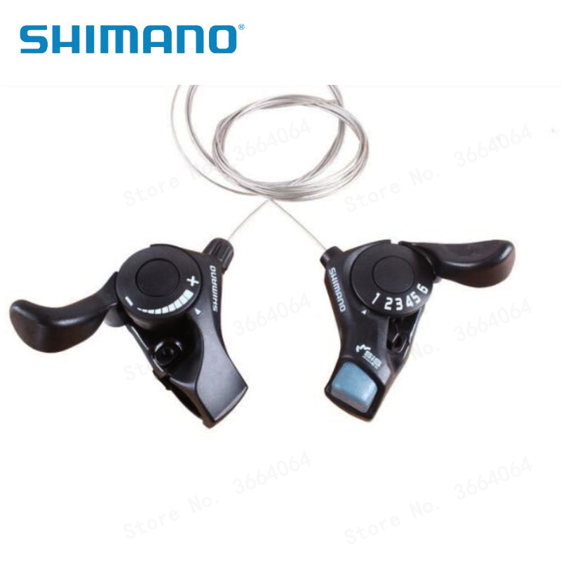 Shimano SL-TX30 3//6//7//18//21 Speed MTB Mountain Bicycle Thumb Gear Shift Set