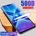 Гидрогелевая пленка для huawei honor 8x 8c, для honor 8 lite pro 8 lite 8pro x c, защита экрана, не стекло