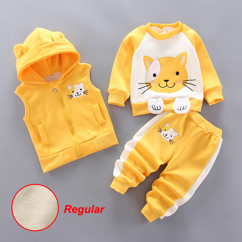 Fashion Baby Boys Clothes Autumn Winter Warm Baby Girl Clothes Kids Sport Suit Outfits Newborn Baby Clothes Infant Clothing Sets