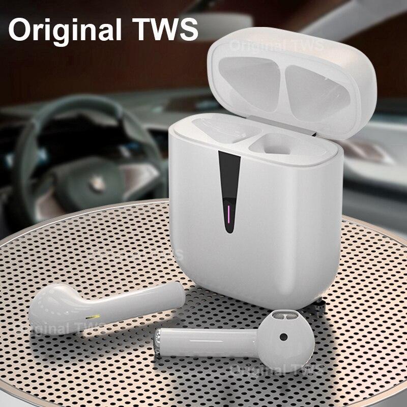 Оригинальные TWS Bluetooth-наушники; Внутриканальные наушники; Беспроводные наушники; Встроенный бинауральный микрофон; Игровая гарнитура PK i7s i9s...