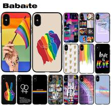 Babaite Gay Lace romantiek Zachte Siliconen zwarte Telefoon Case voor iPhone X XS MAX 6 6s 7 7plus 8 8Plus 11 11pro max XR(China)