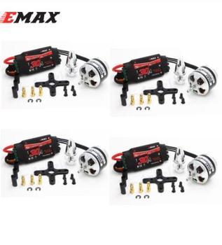 4set/lot EMAX XA2212 820KV 980KV 1400KV Motor With EMAX Simonk 20A / 30A ESC Set For RC Model for F450 F550 RC Quadcopter