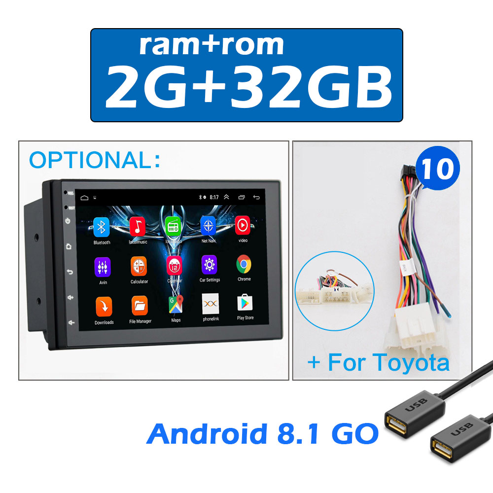 2 din CAR ANDROID 7 -10
