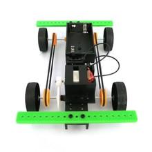 1 Set Mini Powered Toy DIY Car Kit Children Educational Gadget Hobby Funny solar system model robotica educativa W726 realts hobbyboss 1 48 80344 a 7d corsair ii model kit hobby boss