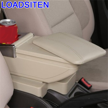 Dekorasyon Styling oto otomobil dekoratif koruyucu modifiye araba araba-styling kol dayanağı araba kol dayama 16 17 Volkswagen Santana için