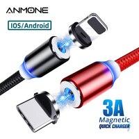 Magnetico Tipo di Cavo C Micro Cavo USB Per Il Telefono Android USB C Veloce Carica Universale Magnete Cavo di Ricarica Per IPhone rapido Filo