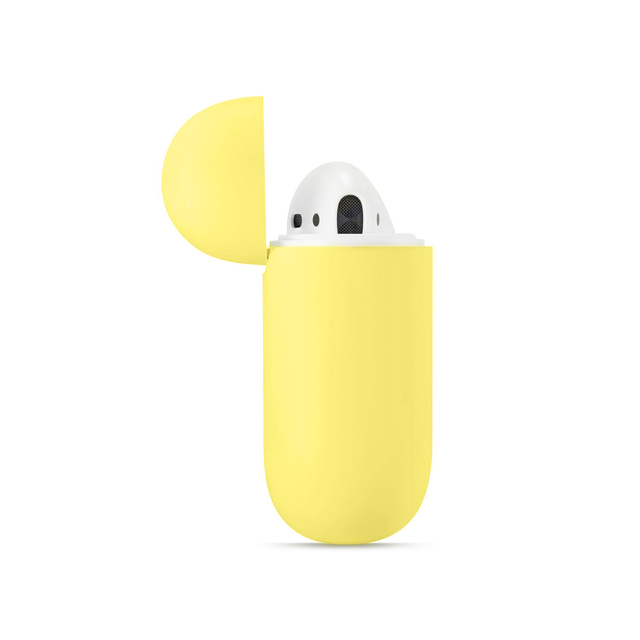Soft Silicone Cases For Apple Airpods 1/2 Protective Bluetooth Wireless Earphone Cover For Apple Air Pods Charging Box Bags Consumer Electronics