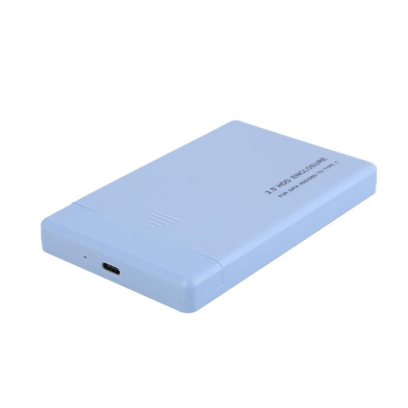 VKTECH 2.5 Inch HDD Case SATA To USB 2.0 3.0 Adapter External Hard Drive Enclosure USB Type C 3.0 HDD Box SSD Case HDD Enclosure