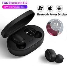 A6s tws fones de ouvido sem fio bluetooth fone estéreo mini com cancelamento ruído para xiaomi iphone huawei