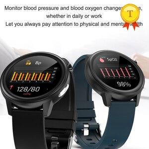 Image 4 - 2021ขายดีที่สุด HD หน้าจอ ECG Ppg สมาร์ทนาฬิกาผู้ชายผู้หญิงกันน้ำอุปกรณ์การตรวจสอบอุณหภูมิบลูทูธ SmartWatch