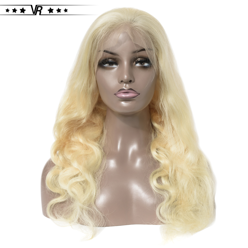613 Body Wave 13x4 Lace Front Human Hair Wig For Black Women 100% Brazilian Hair Pre Plucked Lace Front Wig