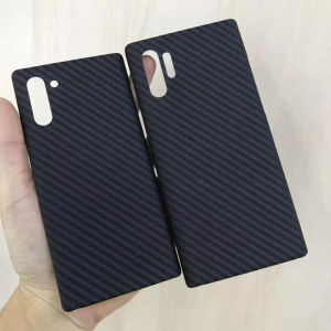 Image 5 - Carbon fiber phone case for Samsung note10 Galaxy note10 Plus Thin and light attributes Half encirclement Aramid fiber material