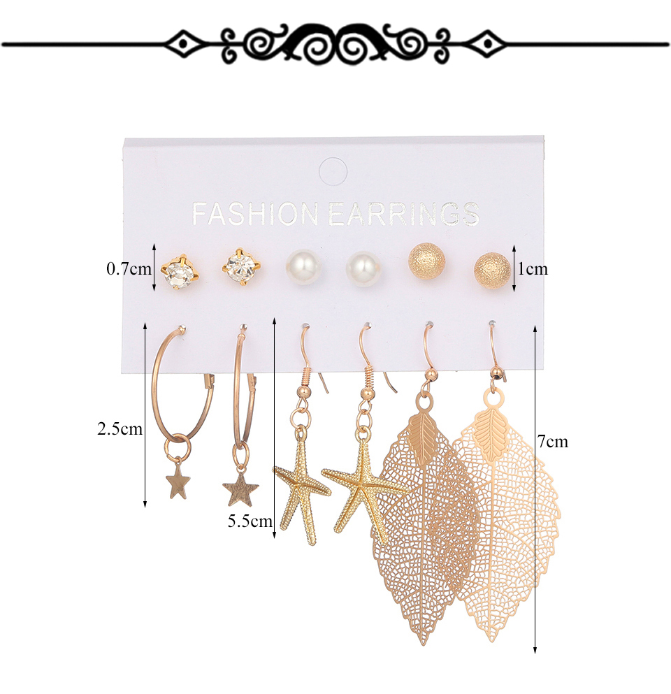 Hccf09b2c57cc4377b516f6a13e1a795dR - Multiple Women's  Boho Ethnic Drop Earrings