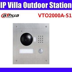 VTO2000A-S1 1.3MP Video Tür Telefon POE P2P Metall Villa Outdoor Station Remote intercom mobile APP nachtsicht Ersetzen VTO2000A