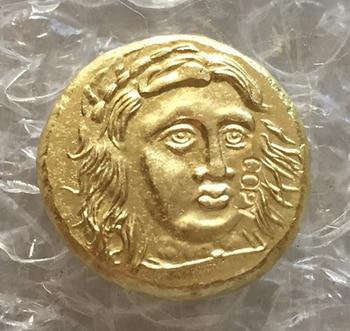 Tipo #49 monedas de copia griega tamaño Irregular