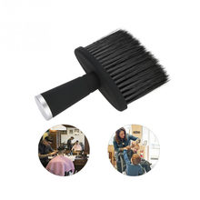 Professional Brushes Barber Soft Black Neck Duster Hair Clean Hairbrush Beard Brush Salon Cutting Hairdressing Styling Tool(China)