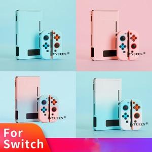 Image 1 - IVYUEEN funda dura protectora colorida para consola Nintendo Switch NS, funda trasera para Nintendo Switch Joy Con