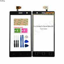 Touch Screen Mobile For Gigabyte GSmart Mika MX Touch Screen Digitizer Sensor Front Glass Panel Replacement Tools 3M Glue