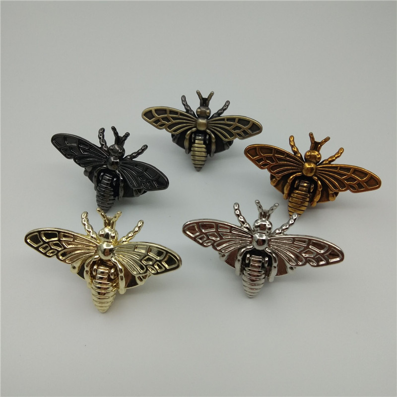 (10 Pieces/lot) Luggage Handbag Bee Shape Decoration Screw Lock DIY Hardware Accessories