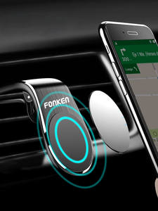 FONKEN Magnetic Car Phone Holder Car Mount Stand Air Vent Clip Mount for iPhone 11 Pro