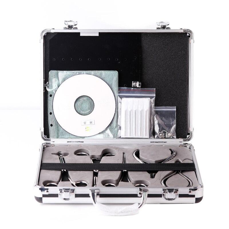 Qualité 316 chirurgical acier inoxydable jetable Anti-allergique ponction outils outils de perçage du corps 5 pièces/ensemble