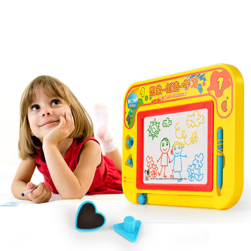 Children Magnetic Drawing Board Doodle Board Color Sketchpad Large Size Drawing Board Baby Early Childhood Educational Toy 3-6-Y
