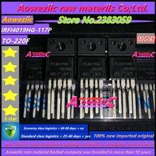 Aoweziic 100% חדש מיובא מקורי IRFI4019HG 117P IRFI4019HG IRFI4019H TO 220F 5N ערוץ MOS טרנזיסטור 150V 8.7A