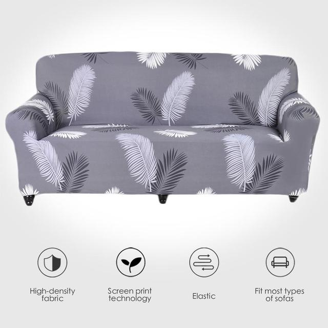 Jednokolorowa Sofa poliestrowa o wysokiej elastyczności antypoślizgowa kanapa narzuty uniwersalne meble ochraniacz na krzesło