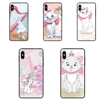 Black Soft TPU 2020 New Arrival Drop shipping For Huawei Honor 6A 7A 7X 8C 8X 9 9A 9I 9X 10 10I 20 20I 20S Lite Pro Aristocats image