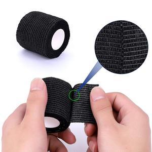 Image 2 - 12PcsแบบTATTOO Grip Self Adhesiveผ้าพันแผลHandle Grip TubeสำหรับTATTOO Machine Gripอุปกรณ์เสริม