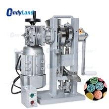 كاندلاند THDP 3 واحد لكمة السكر اللوحي قالب المكبس آلة الضغط آلة المحرك مدفوعة والتعامل مع صانع ختم الحلوى