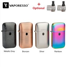 Original Vaporesso Aurora Play Lighter Pod Kit with 650mAh Battery & 2ml Pod System Vape Kit e cig vs Renova Zero/ Drag Nano(China)