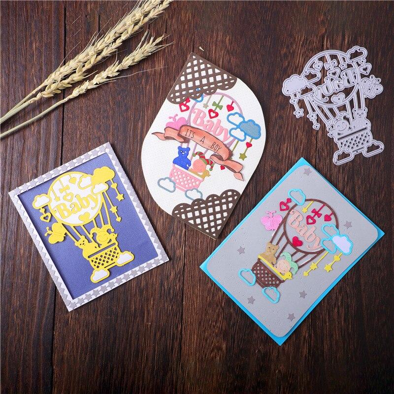 Cute Angel Boy Love Cutting Dies Scrapbooking Embossing Stencils Decorative Card