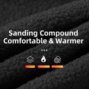 Image 4 - Зимняя Теплая Флисовая термомаска ROCKBROS с флисовой подкладкой, сохраняющая тепло, Ветрозащитная маска для лица, нагрудники для катания на лыжах, сноуборде и шеи