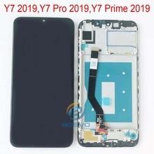 화웨이 Y7 2019 LCD 화면 디스플레이 Y7 프로 및 Y7 프라임 2019 터치 어셈블리 교체 수리 부품