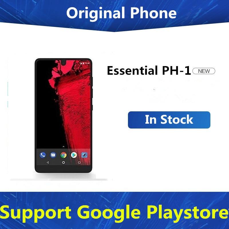 "Original Essential PH-1 Phone 4G LTE Mobile Phone Snapdragon 835 Android 7.1 5.71"" 2560X1312 4GB RAM 128GB ROM NFC Fingerprint(China)"