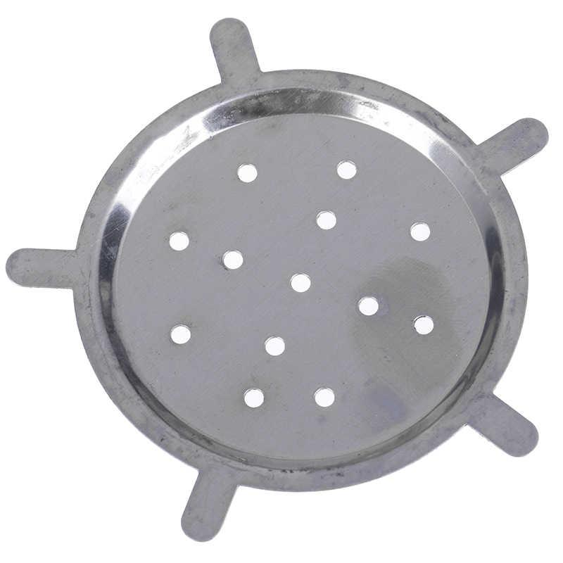 Tela de Metal titular Do Carvão Vegetal Do Cachimbo de água de aço inoxidável para Narguile Shisha tigela tigelas de Barro Acessórios de Chicha