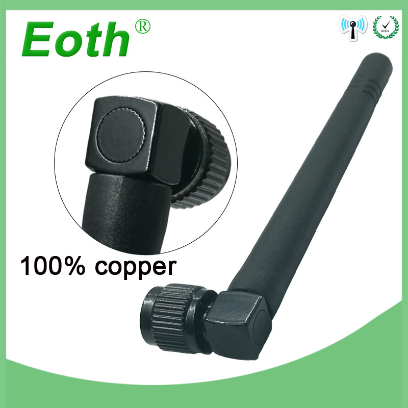 500pcs Wholesale 2.4GHz Antenna <font><b>WIFI</b></font> 3dbi SMA Male connector Aerial <font><b>2.4</b></font> <font><b>ghz</b></font> <font><b>antena</b></font> wi fi antenne black for Wireless wi-fi Router image