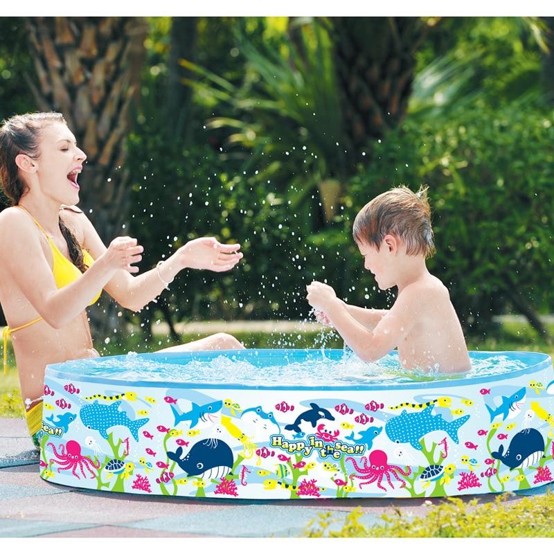 Jilong Baby Children Swimming Pool PVC Sunclub Play Rigid Wall Pool Thickened Wear-resistant