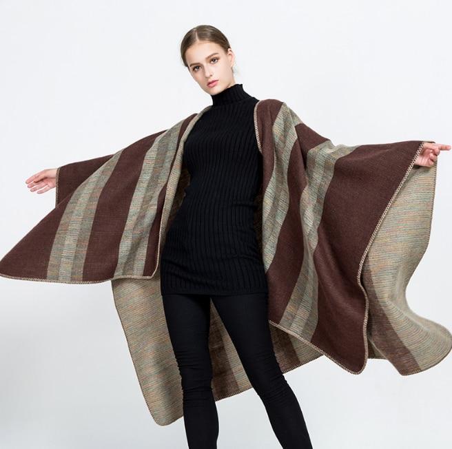 165*125cm Cashmere imitation Shawl Scarf Autumn Winter Scarves Men Foulard Square Hijab Ladies wrap muffler pareo female hijab
