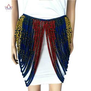 Image 5 - 2020 アフリカアンカラ手作りストラップネックレスファッションアクセサリージュエリーギフトafircan生地プリントネックレスショールSP002