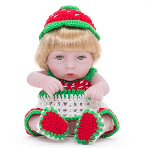 10 Inches Fashion Doll Silicone Body Soft Dolls Lifestyle Reborn Baby Doll Girls Toys for Children Suitable Over 3 Years Old