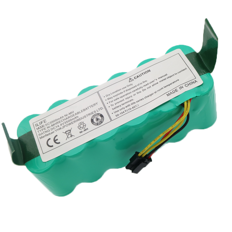 14.4V 3500 MAh Ni-MH Battery Pack For Ariete Briciola 2711 2712 2717 Robotic Cleaner Vacuum Cleaner Parts