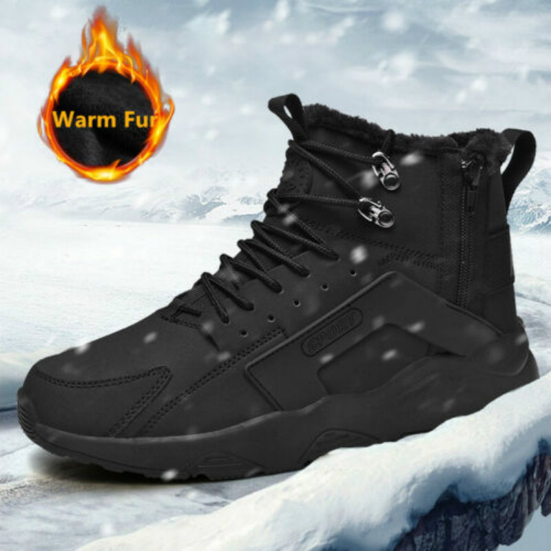 Damyuan Men's Boots Men's Shoes 2019 New Fashion Plug Size 46 Cotton Shoes Snow Boots Warm Footweaer Men's Shoes