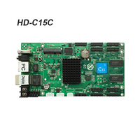Asynchronous Card HD C15 HUB75 data interface RGB full color led display control card,112x1024 pixels,WIFI LAN USB control card