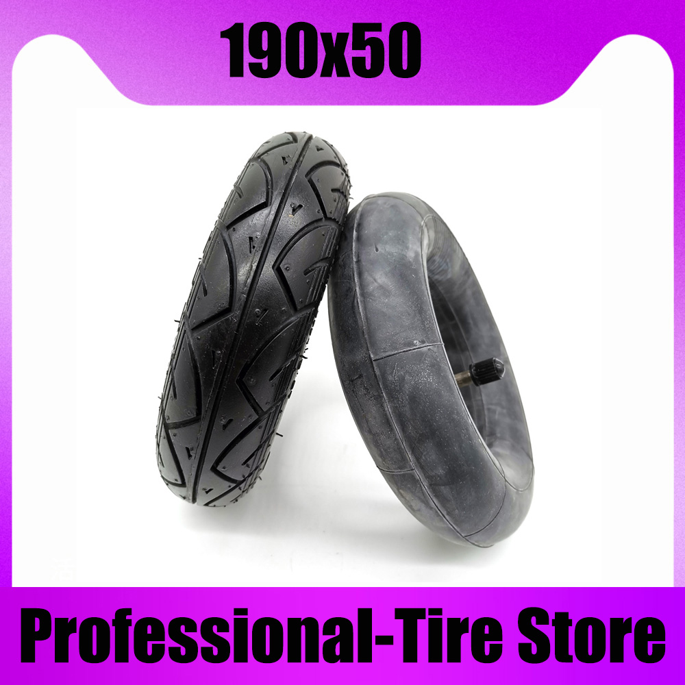 High Quality 190x50 <font><b>Tire</b></font> 200x50 Inner Tube for Evo Electric Scooter Front Wheel image