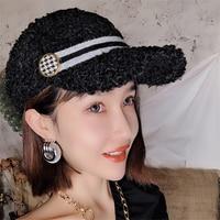 Women Fur Hat New Winter Warm Baseball Caps Outdoors Visors Lamb Wool Hat Adult Female Casual Fashion Girl Black Thick Hats